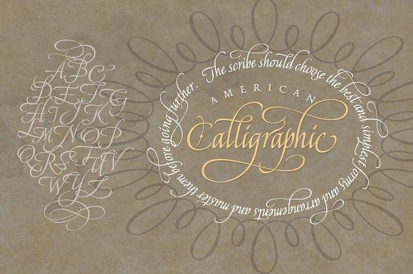 American Calligraphic