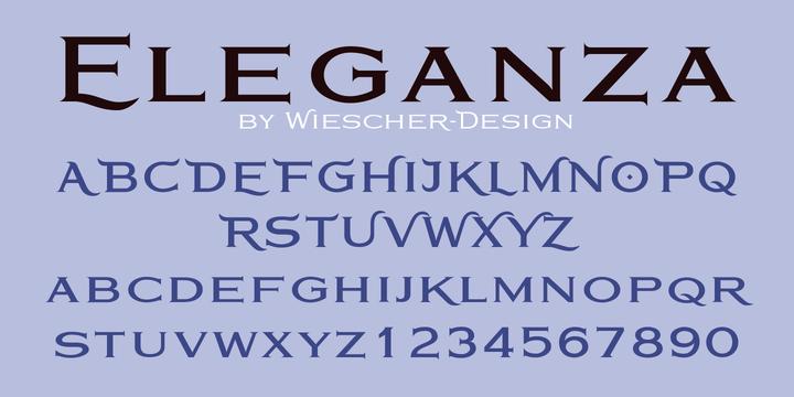 Eleganza Font Family