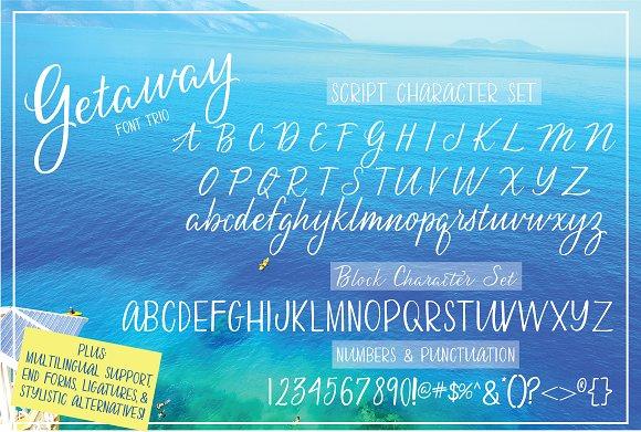 Getaway Script Font