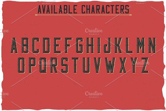 Old Windsor Vintage Typeface