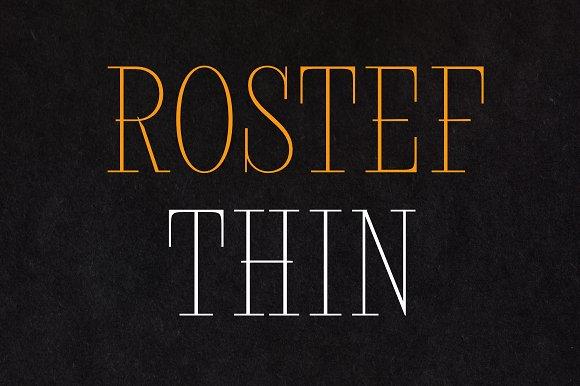 Rostef Thin