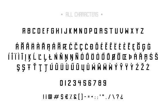 Destrukt - Sans Serif Font- 2 Styles