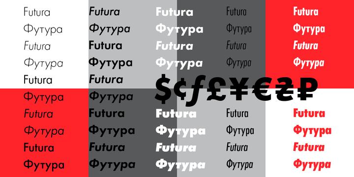 Futura PT Font Family - iFonts xyz
