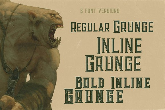 Giant - Vintage Style Font