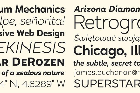 Halcyon Sans Serif