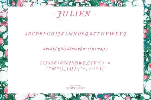 Julien - Handwritten Font