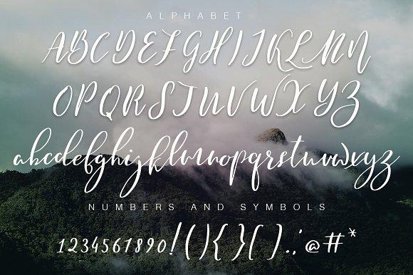Mantoya Script Font