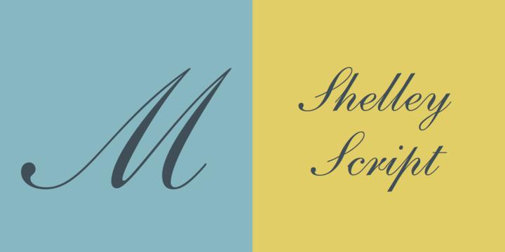 Shelley Script Font Family