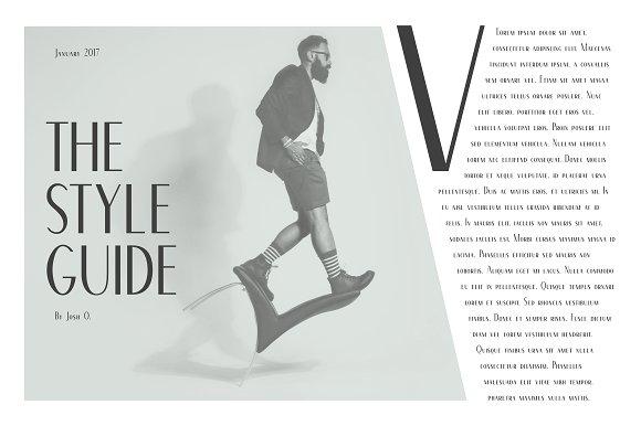 Von Bond - A Classy Sans Serif