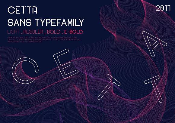Cetta Sans Typefamily