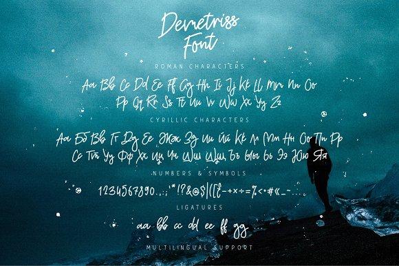 Demetriss Font