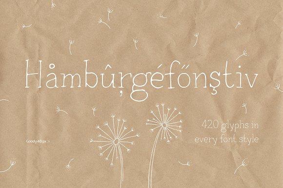 Goody typeface