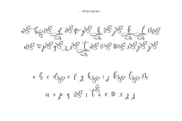 Hello Bunda Typeface