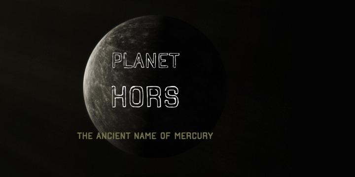Hors Font Family