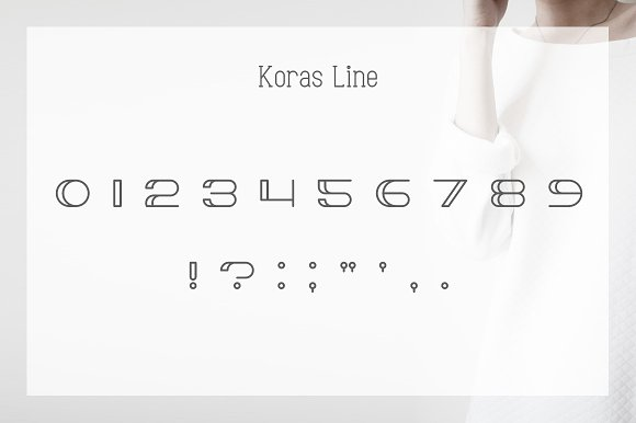 Koras Display Font
