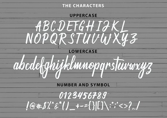 Magnifying Duo Handwritten Font