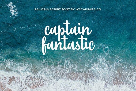 Sailoria Script Font