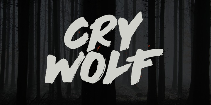 Cry Wolf Font Family - iFonts xyz