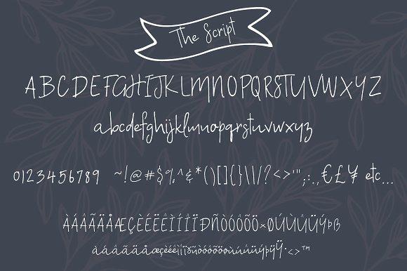 A Bientot | Font Duo with Bonus Logo