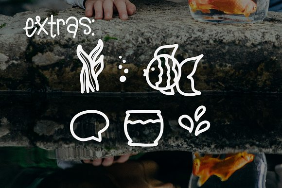 A Goldfish Tale font
