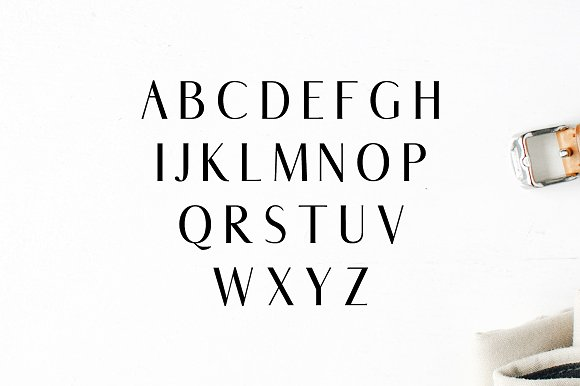 Abiah Sans Serif Typeface