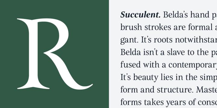 Belda Font Family