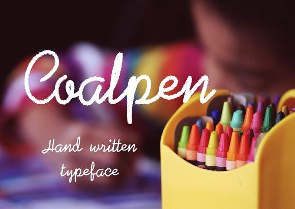 Coalpen Handwritten Font