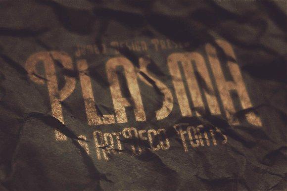 Plasma - ArtDeco Style Font