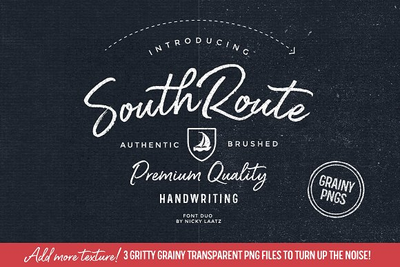 South Route Font Duo & Extras