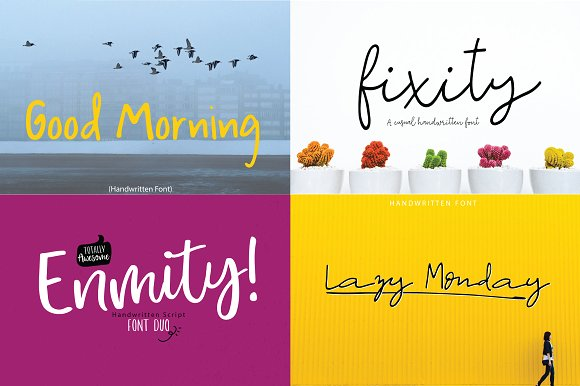 33 The Fancy Autumn Bundle Font