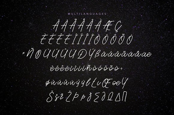 Aesthetik | Handwriting Font