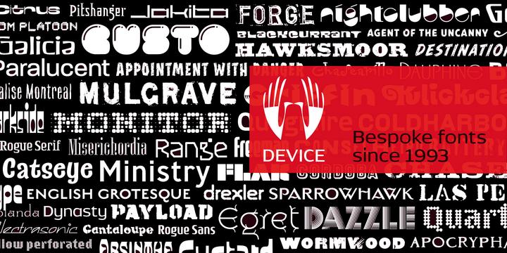 Agent Of The Uncanny Font