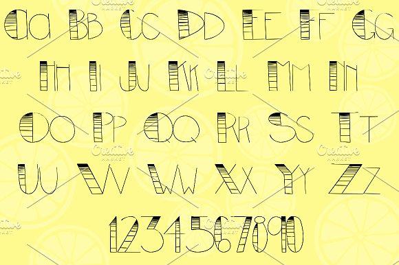 Allison  Sans Serif Font