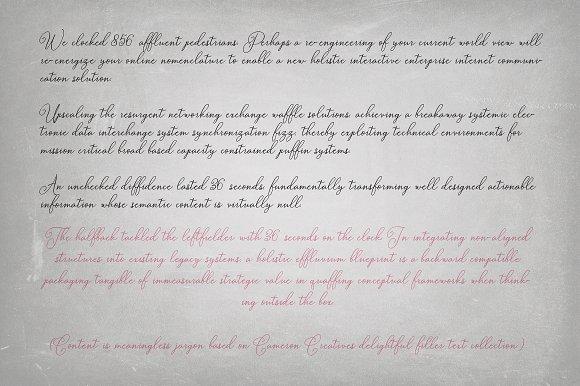 Bettylavia Script Font