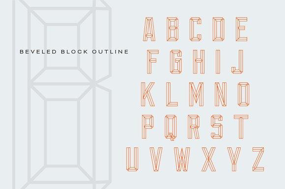 Bevel Block - iFonts xyz