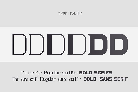 DIONIS set (serif & sans serif)