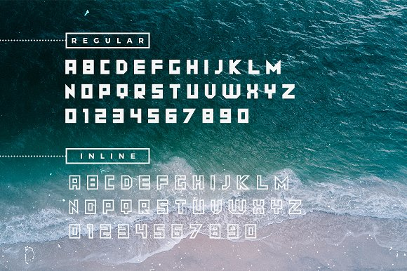 GEO Space | Bold Uppercase Titling
