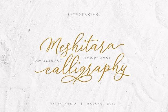 Meshitara Elegant Font