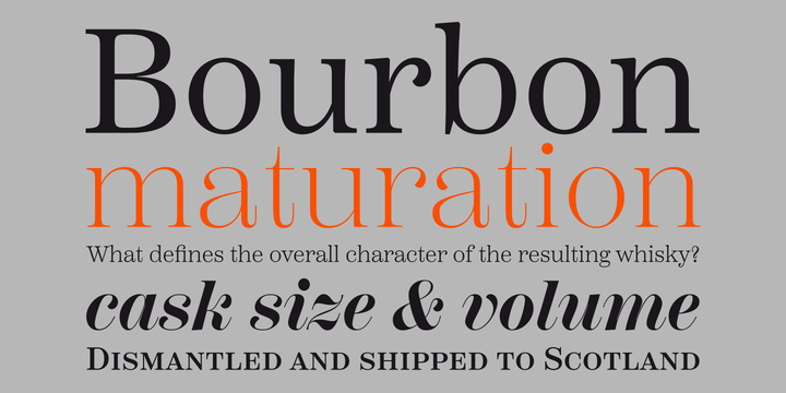 Scotch Font Family (Incomplete)