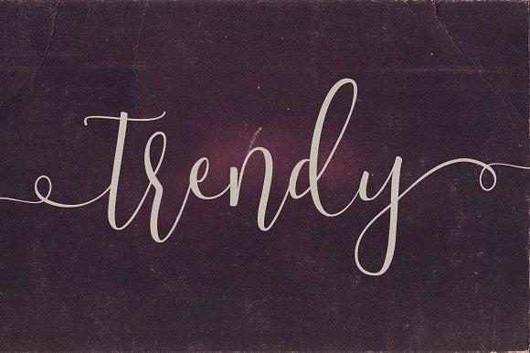 Trendy Script Font Duo