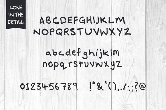 Abigail Christmas Hand Script