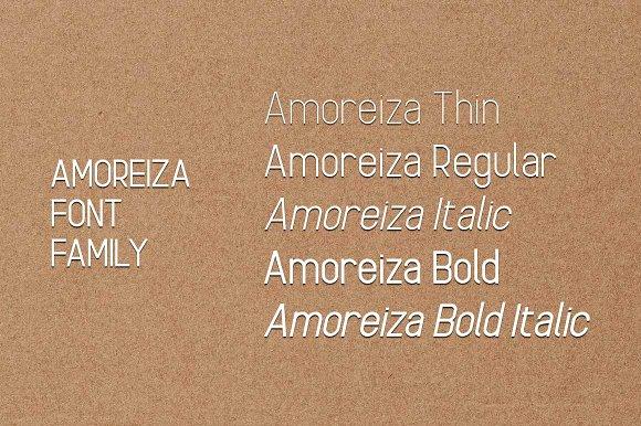 Amoreiza Font