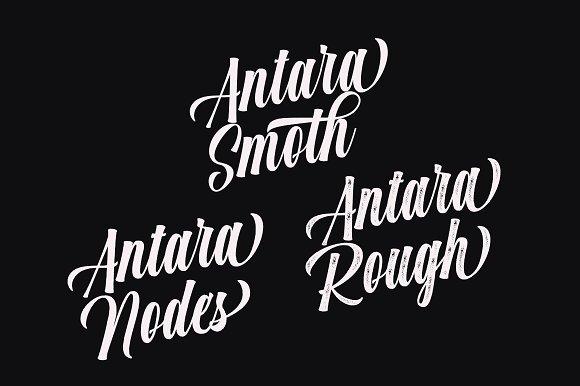 Antara (3 style fonts) Script Fonts - iFonts xyz