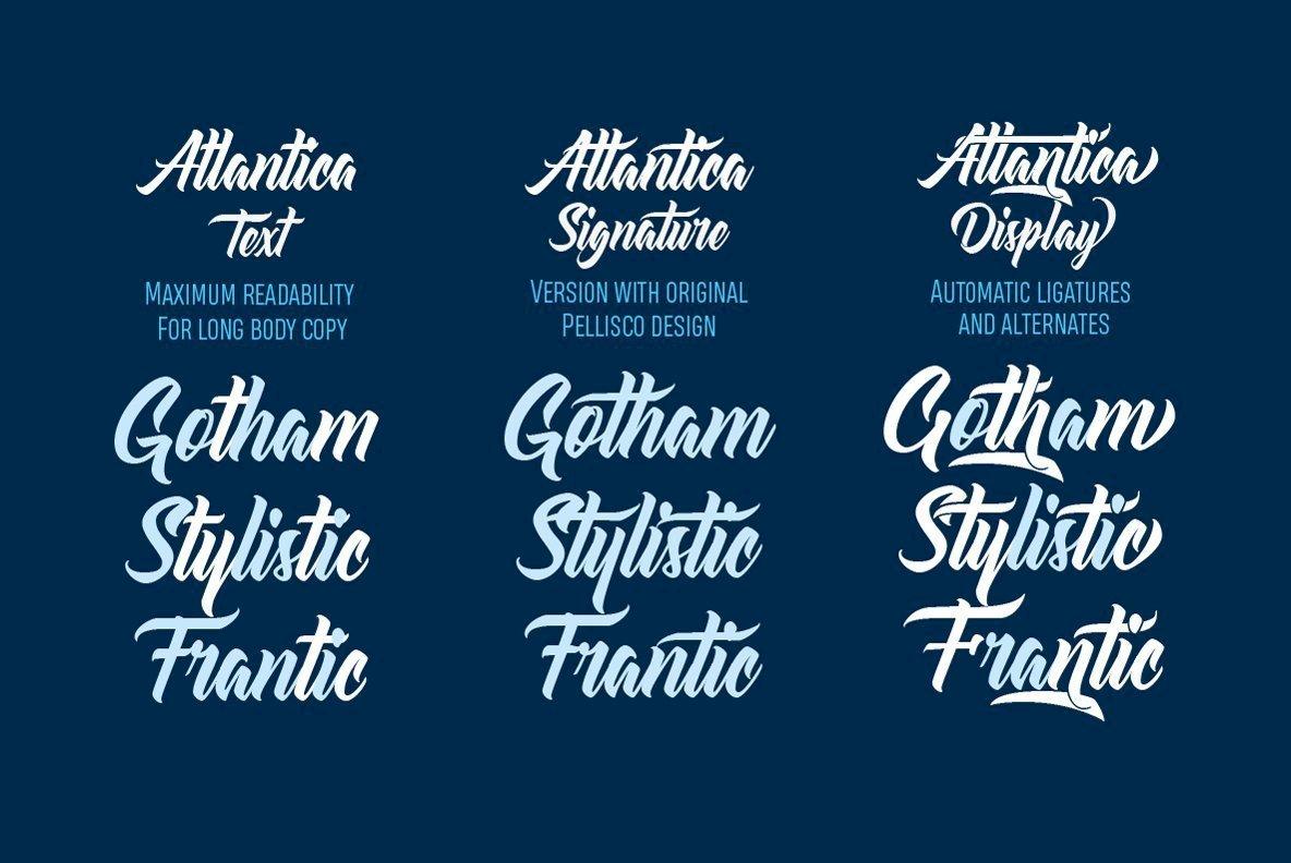 Atlantica Font Family - iFonts xyz
