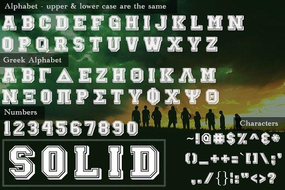Brotherhood Greek Font Set - iFonts xyz