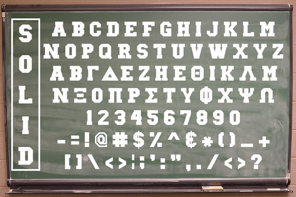 Collegiate Greek Font Set - iFonts xyz