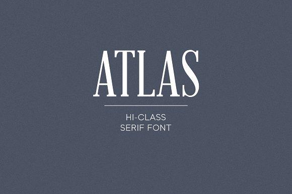 Atlas Serif Font - iFonts xyz