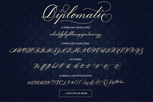 Diplomatic Font
