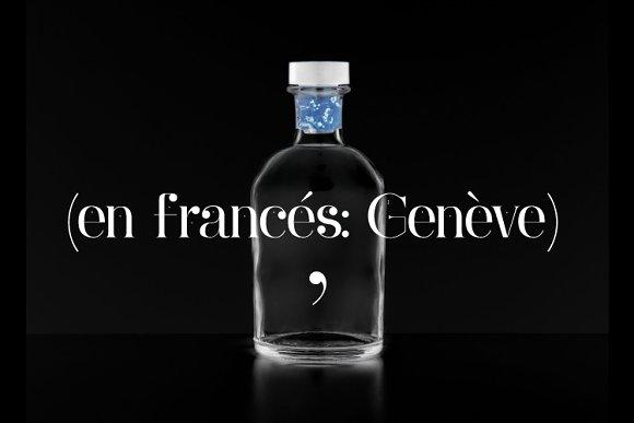 Ginebra Font