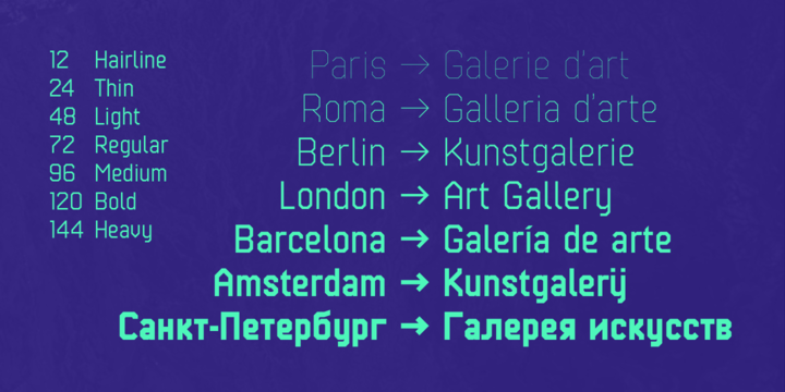 Kunst Font Family
